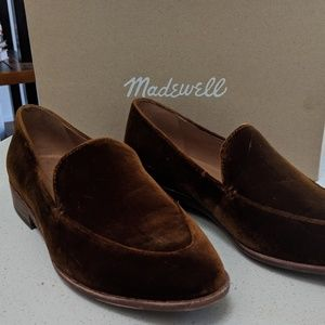 Madewell Frances Loafer in Velvet